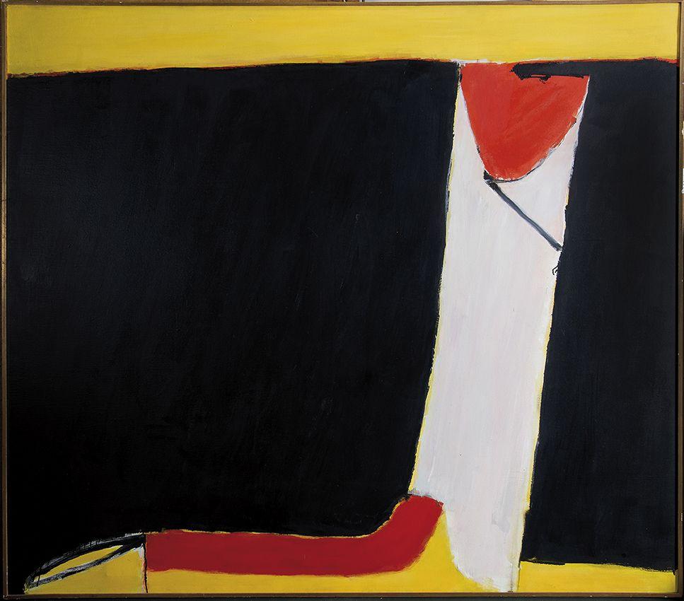 José Guerrero. Convergencia, 1976. Salida: 125.000 euros. Remate: 155.000 euros