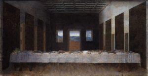 Última cena. 2010. Impresión digital sobre lienzo. 474 x 858 cm