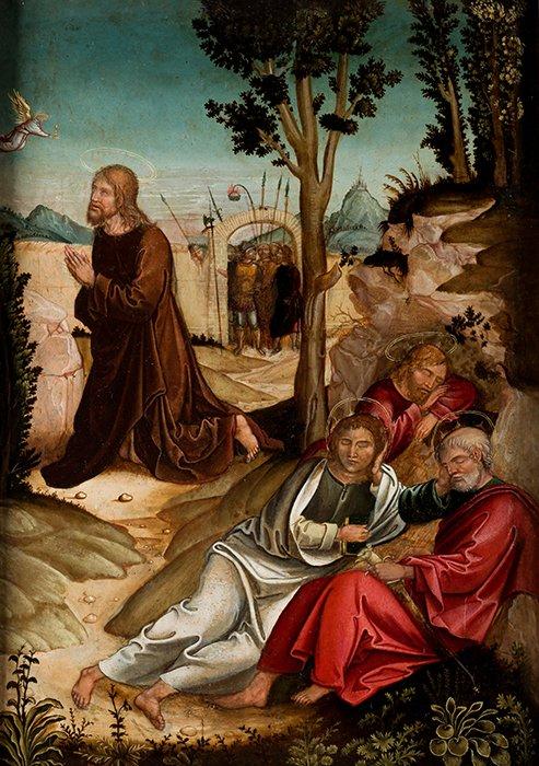 Antonio Comontes. Oración en el huerto. Salida: 14.500 euros. Remate: 16.500 euros