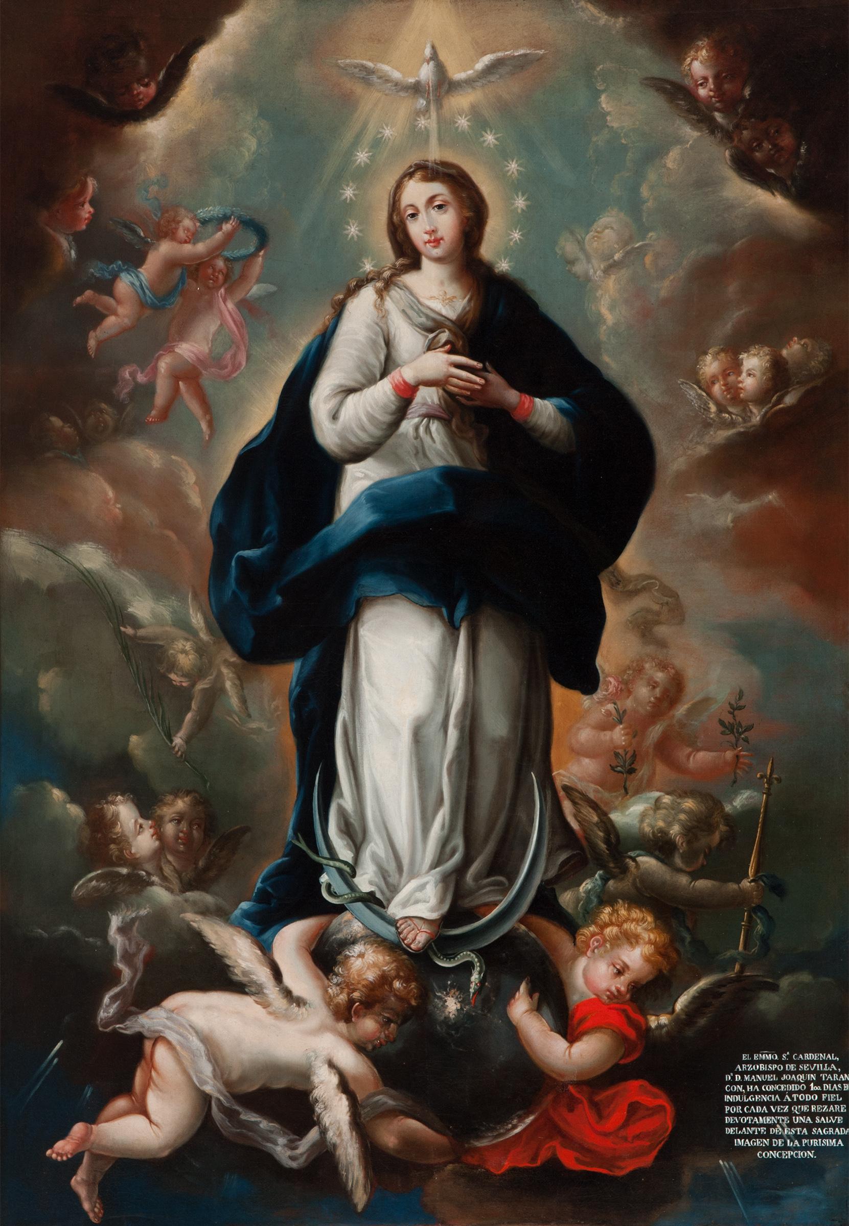 Atribuido a Isidoro de Tapia – Inmaculada