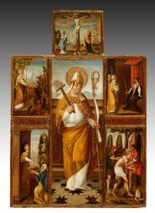 Escuela aragonesa, siglo XVI – Escenas de la vida de San Blás