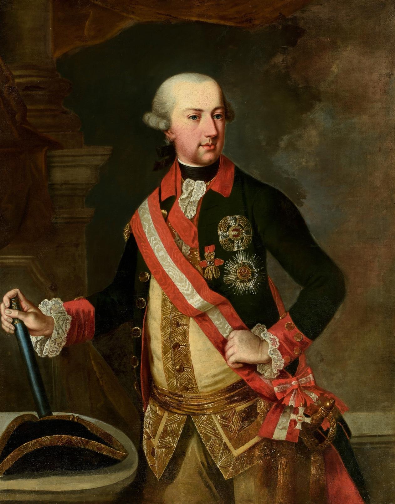 Escuela francesa del siglo XVIII – Retrato de caballero de la Orden del Toisón de Oro