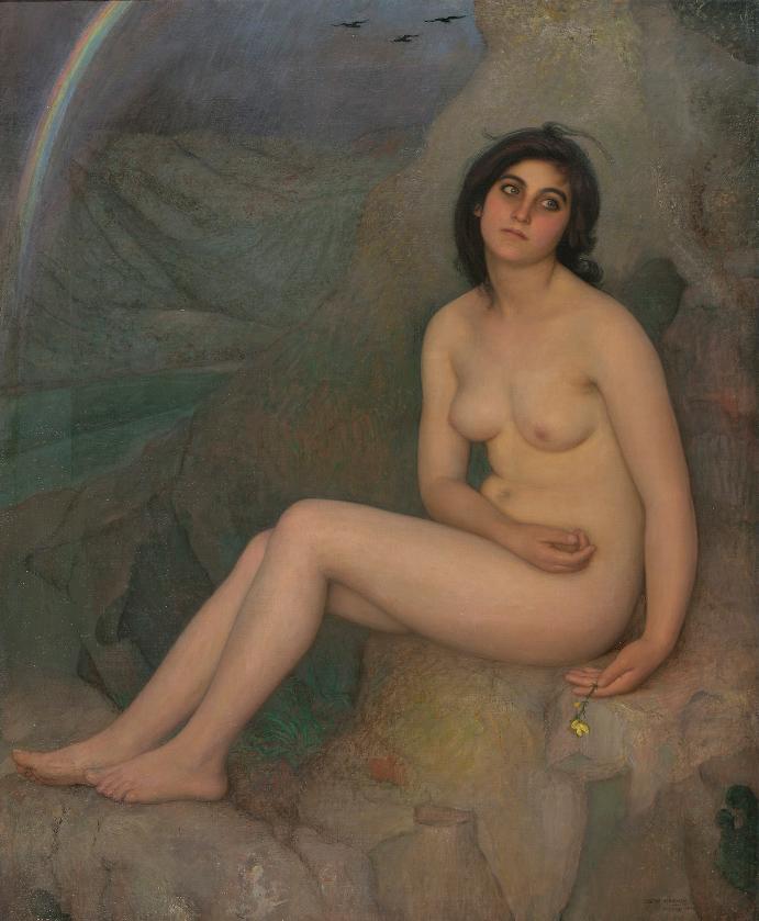 Eugenio-Hermoso-Inconsciencia-o-Melancolia-1925