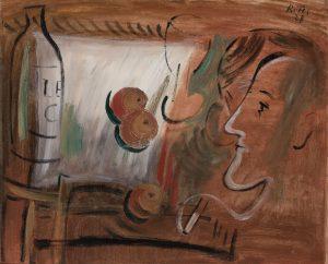 Francisco Bores – Personajes en un café