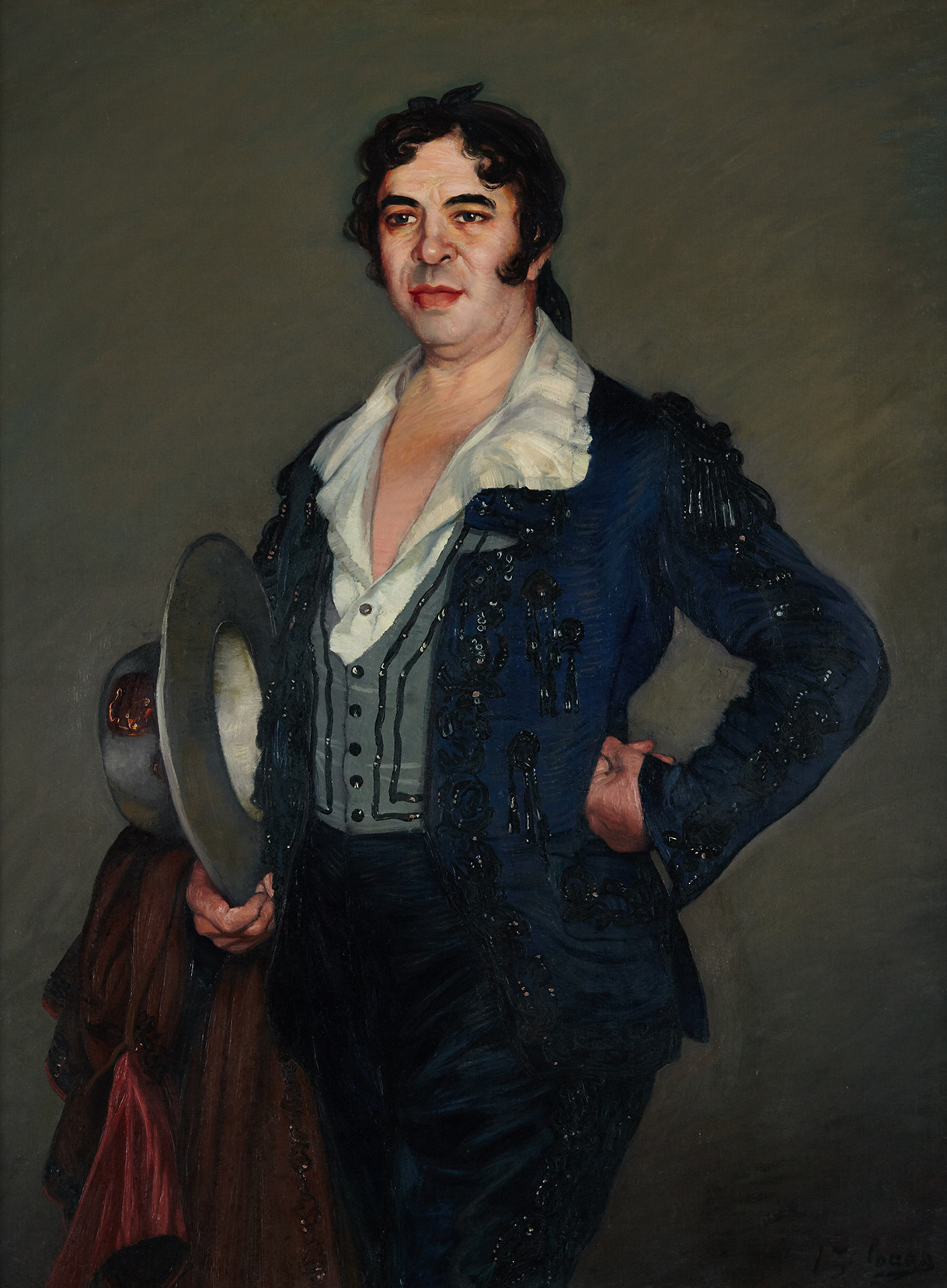 Ignacio Zuloga. Retrato de Titta-Rufo. Salida y remate: 40.000 euros