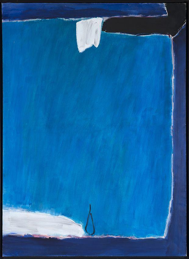 José Guerrero. Oculto, 1979. Salida: 75.000 euros. Remate: 130.000 euros