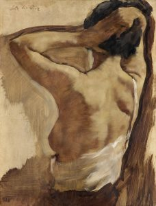 Nude with Raised arms – Lotte Lasserstein