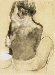 Nude at Washbowl – Lotte Laserstein