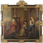 Pedro Atanasio Bocanegra. Adoración de los Reyes Magos. Salida: 30.000 euros. Remate: 60.000 euros