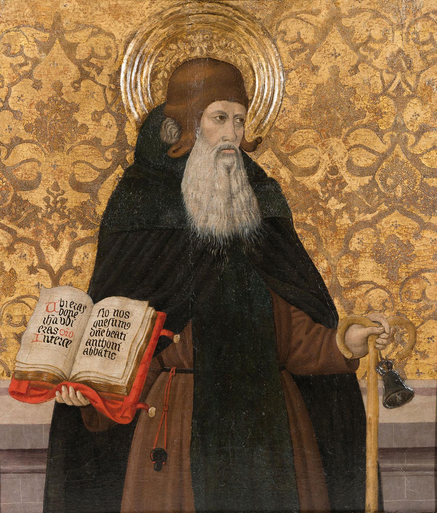 Pedro García de Benabarre. San Antonio abad. Estimación: 45.000 a 55.000 euros. Remate: 45.000 euros