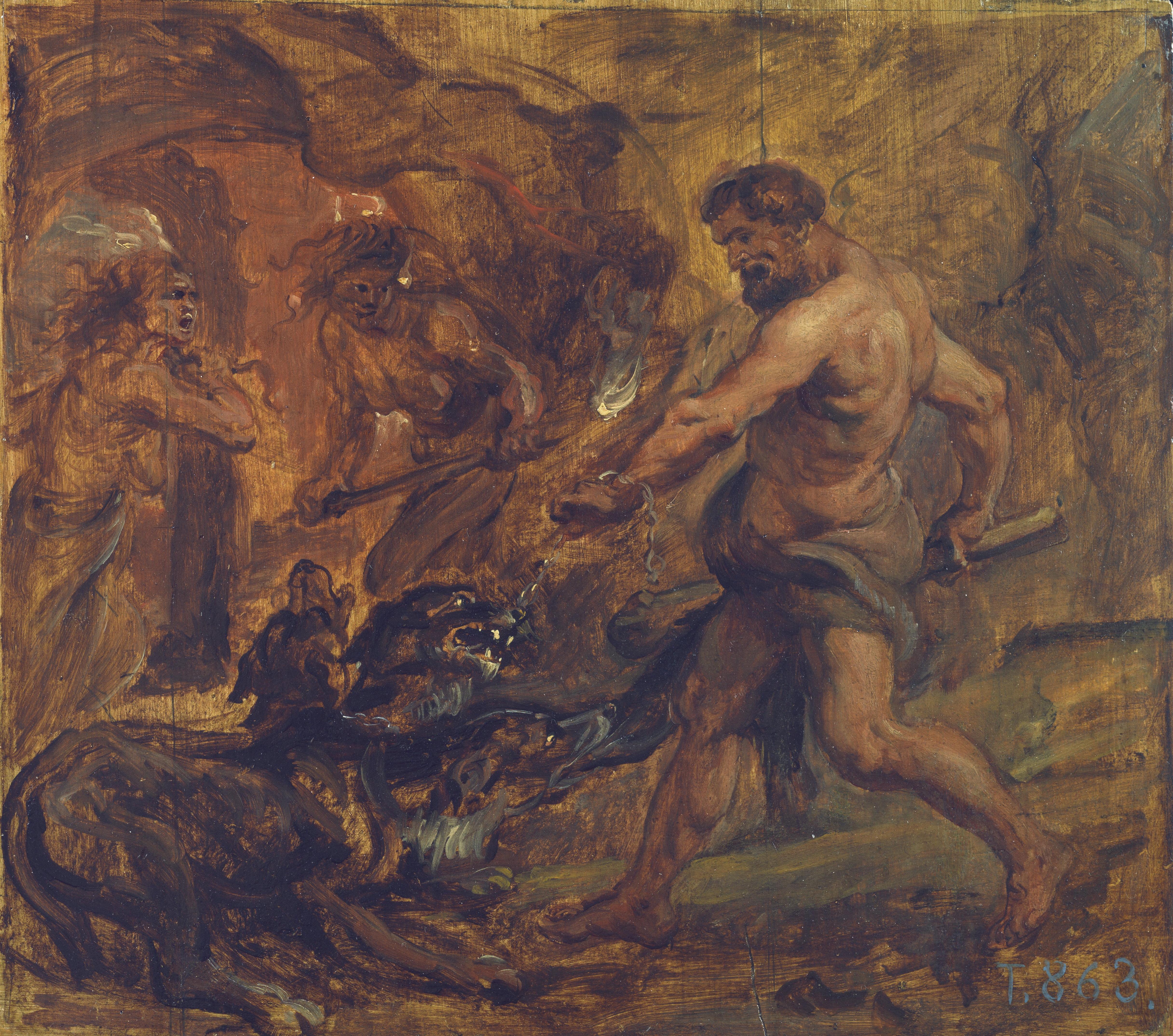 2. Hércules y el Cancerbero, Rubens
