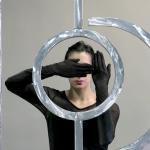 Osías Yanov ///////)))_Io))), 2014 Performance, escultura de aluminio 300 x 600 x 5 cm (118 1/8 x 236 ¼ x 2 in.); 12' Fundación Museo Reina Sofía. Promesa de donación de Patricia Phelps de Cisneros en honor a João Fernandes