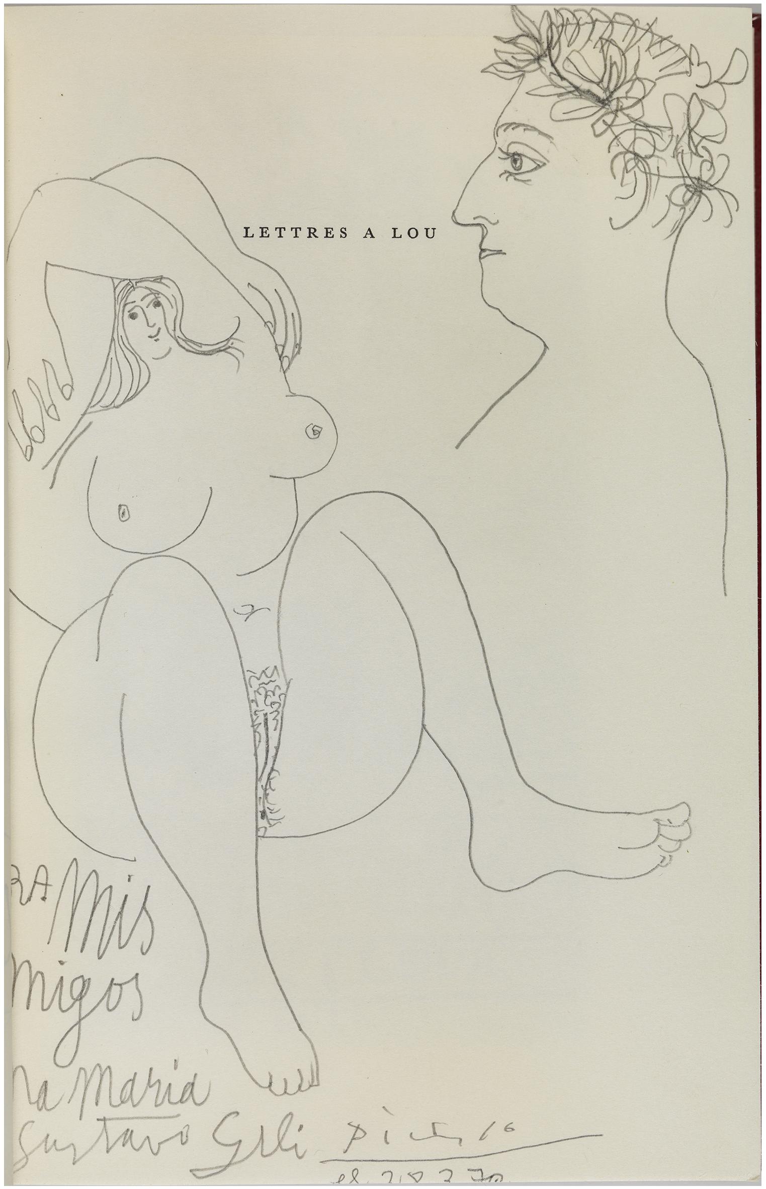 21.MuseuPicasso_Apollinaire amb corona de llorer i una dona