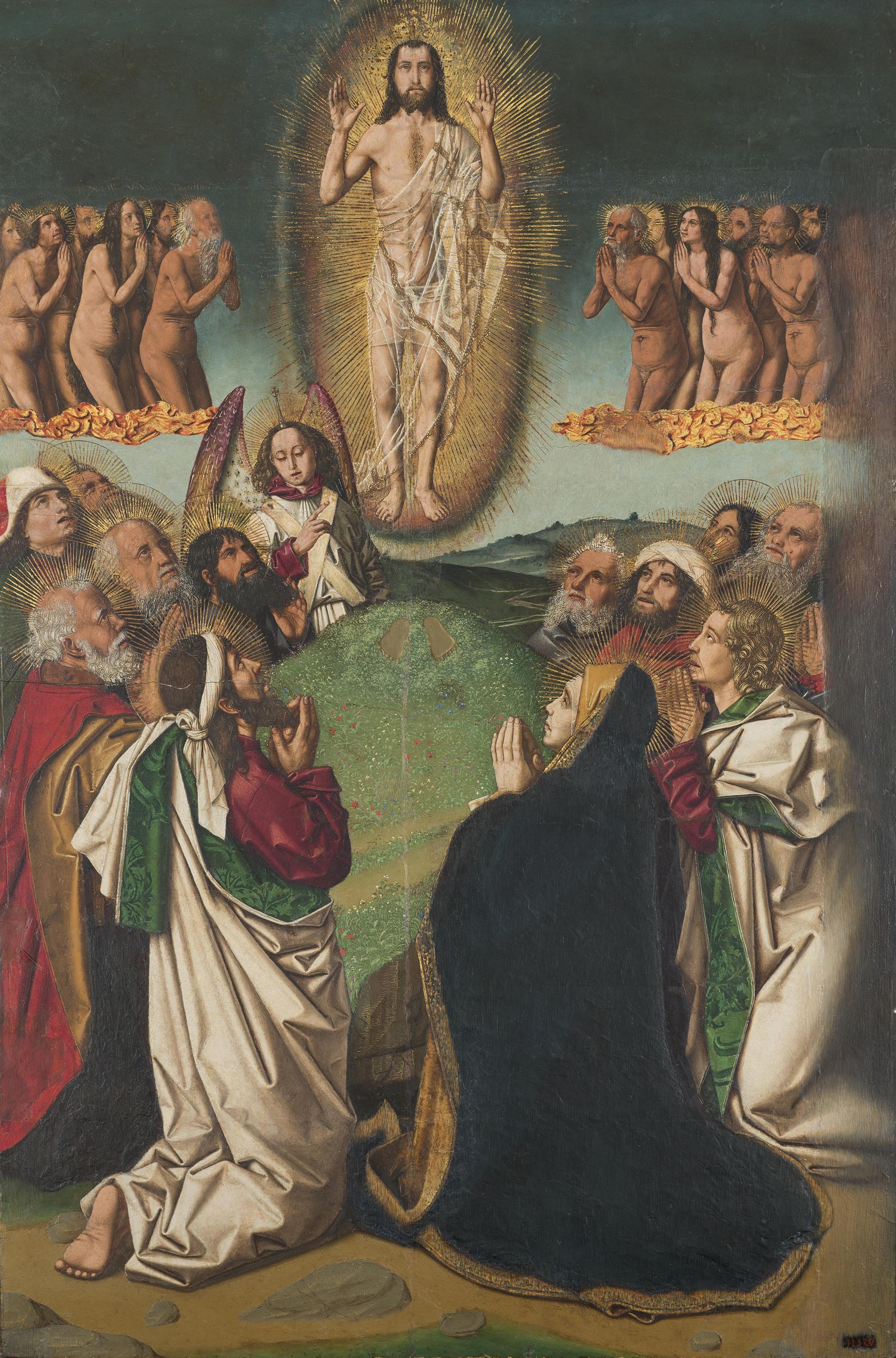 3. Bartolomé Bermejo, Ascensió. Dipòsit de la Fundació privada Institut Amatller d'Art Hispànic. MNAC
