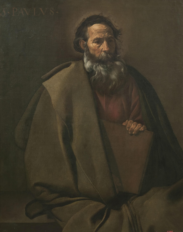 5. Diego Velázquez, Sant Pau. Dipòsit de la col·lecció Gil. Museu Nacional d'Art de Catalunya