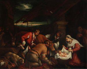 Adoración de los pastores – Círculo de Jacopo Bassano