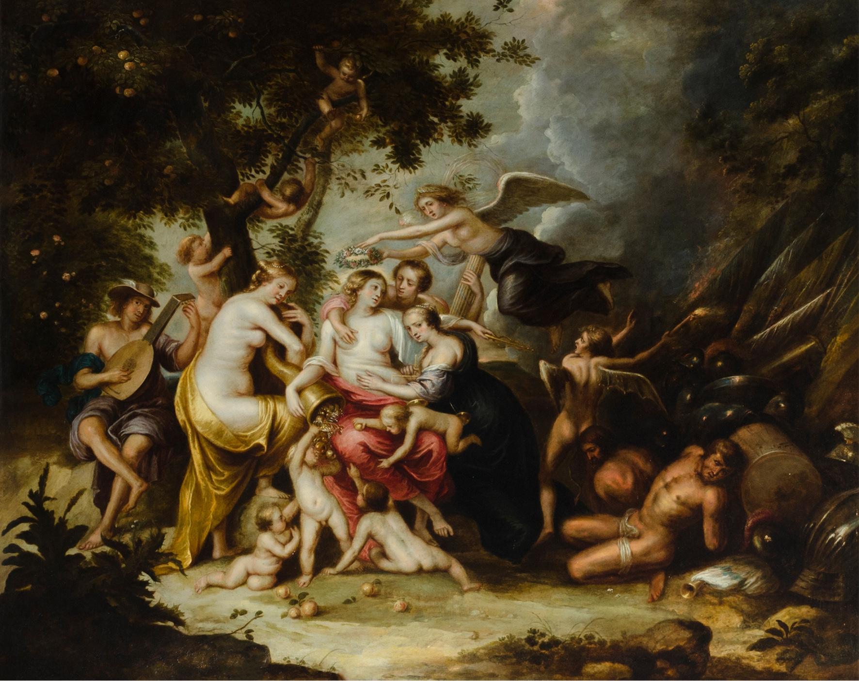 Alegoría de la abundancia – Hendrick Van Balen