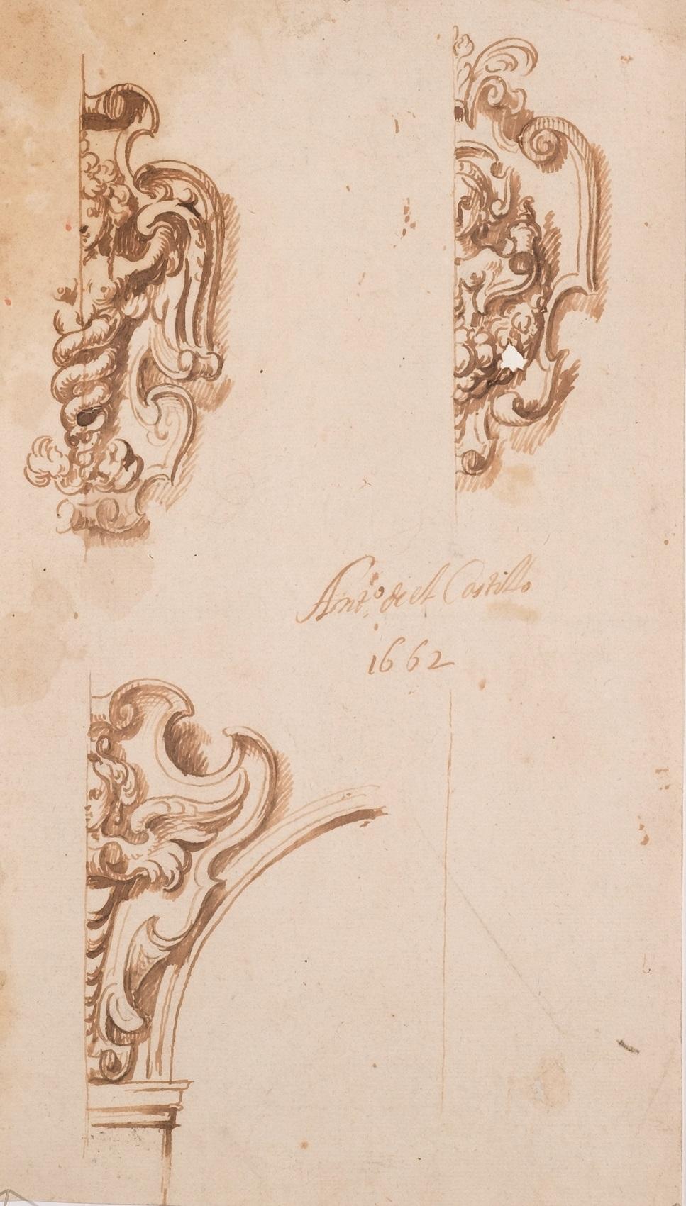 Antonio del Castillo. Estudio de arquitectura, 1662. Salida: 650 euros. Remate: 3.250 euros