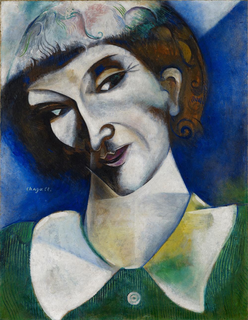 Marc Chagall; Selbstbildnis; 1914