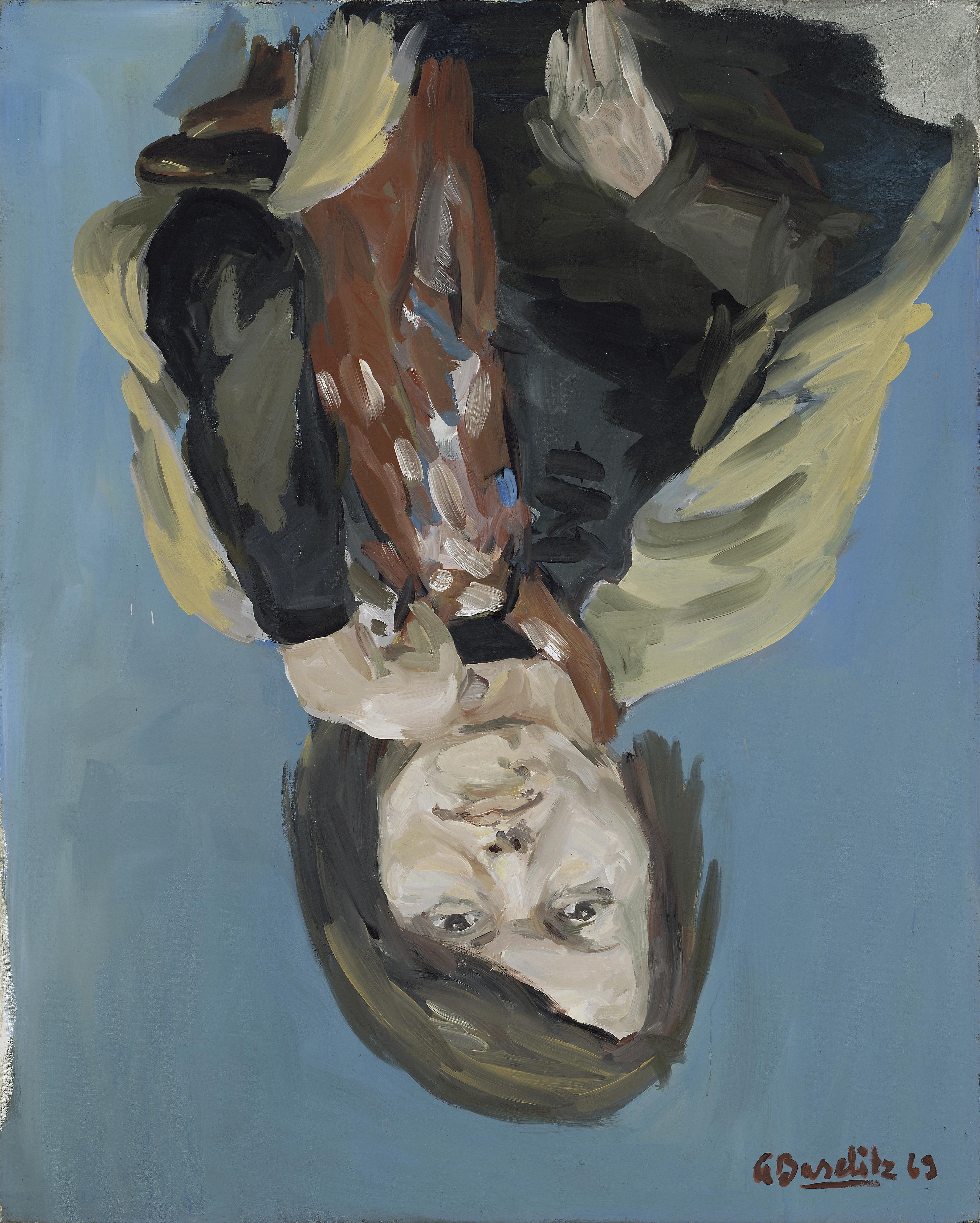 Baselitz_Portrait-Elke-I-1969_374x300mm
