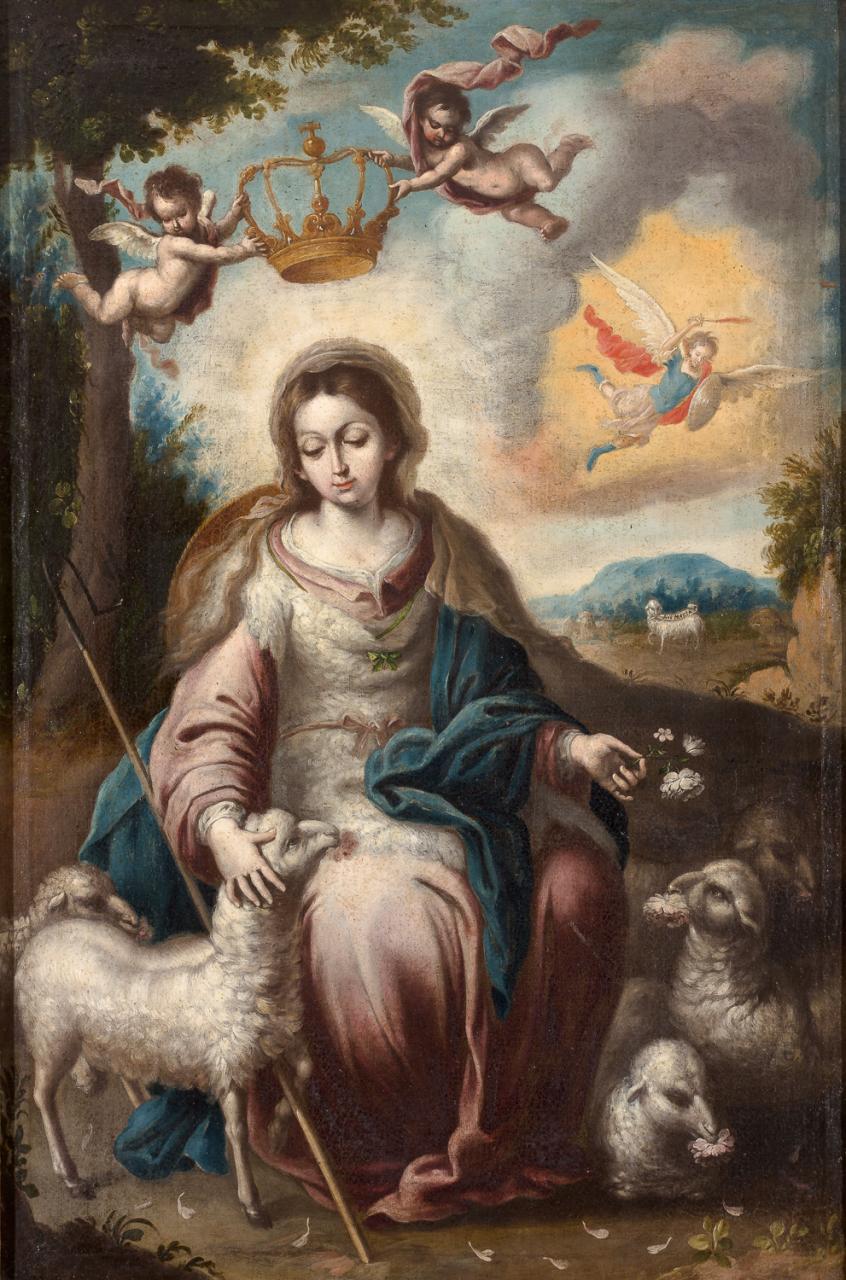 Divina Pastora – Bernardo Lorente Germán