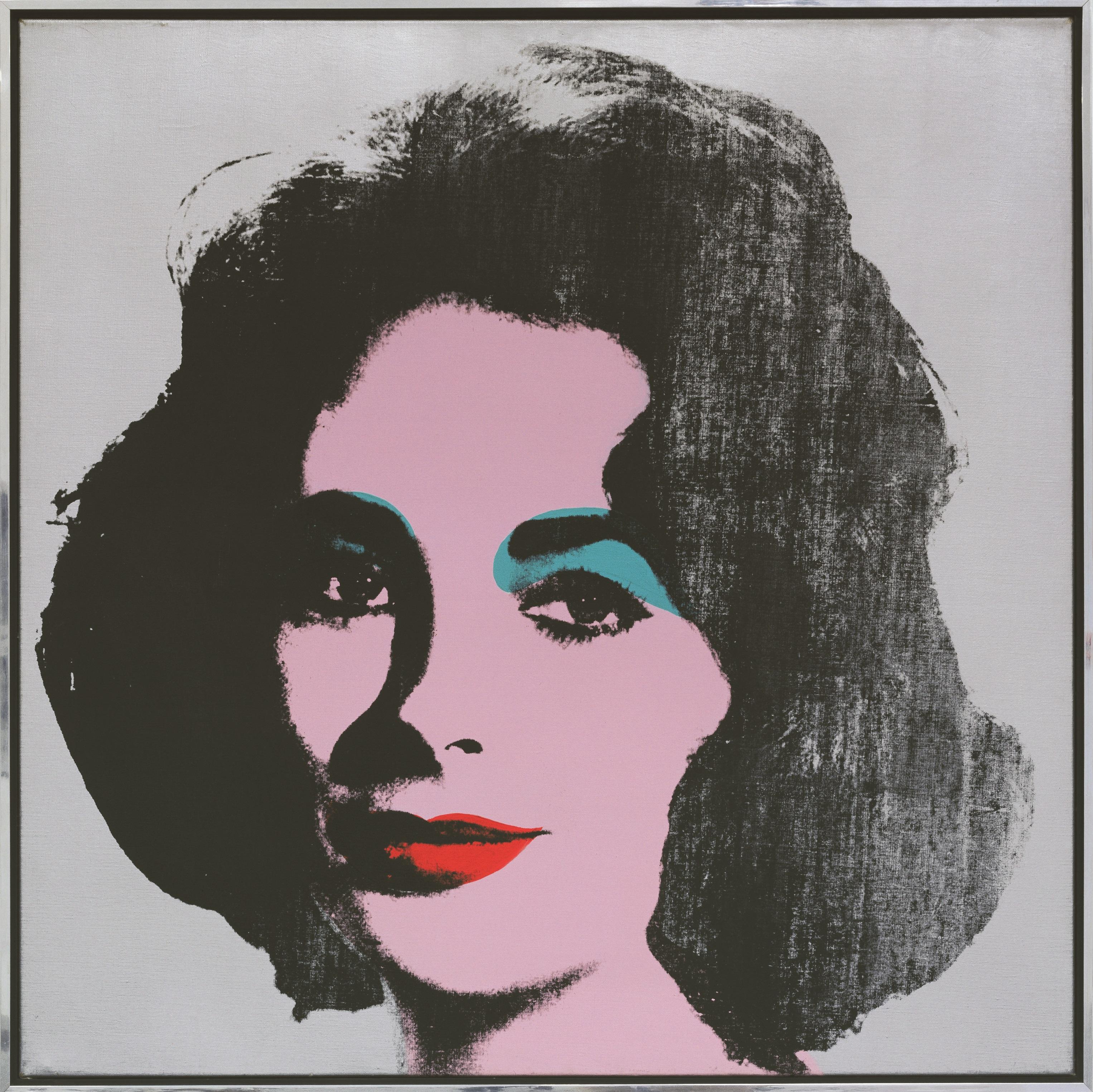 silver-liz-1963-serigrafia-polimero-sintetico-y-acrilico-sobre-lienzo-101-5-x-101-5-cm-coleccion-froelich-leinfelden-ec
