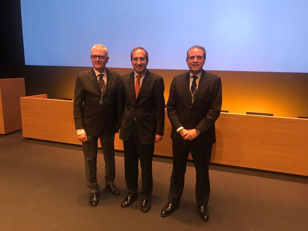 Medalla de plata para dos directores del Museo Universidad de Navarra