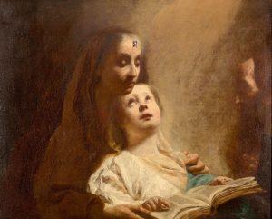 Virgen con el Niño – Giuseppe Maria Crespi