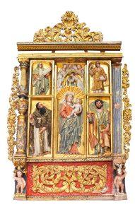 1398-Tríptico-de-la-Virgen-Virgen-con-el-Niño-con-la-imposición-de-la-casulla-a-san-Ildefonso-San-Antonio-abad-con-Santa-Ana;-Santiago-apóstol-y-San-Esteban-diácono.02