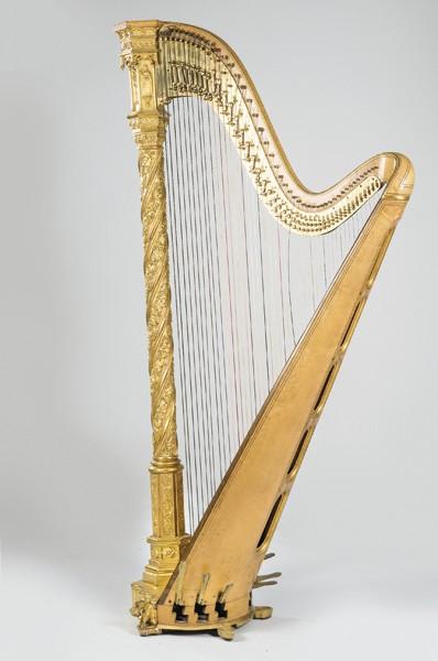 625 B Arpa de Sebastian and Pierre Erard con número de patente 5860, realizada en Londres h. 1830.00