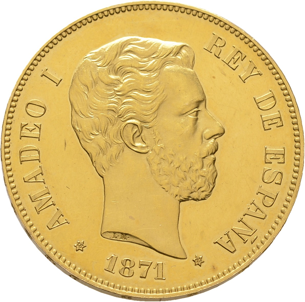 Amadeo I de Saboya 100 pesetas