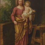 Antonio Carnicero. San José con el Niño, 1787. Salida: 10.000 euros
