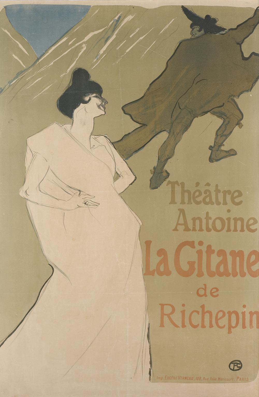 b TOULOUSE LAUTREC La gitana 1899