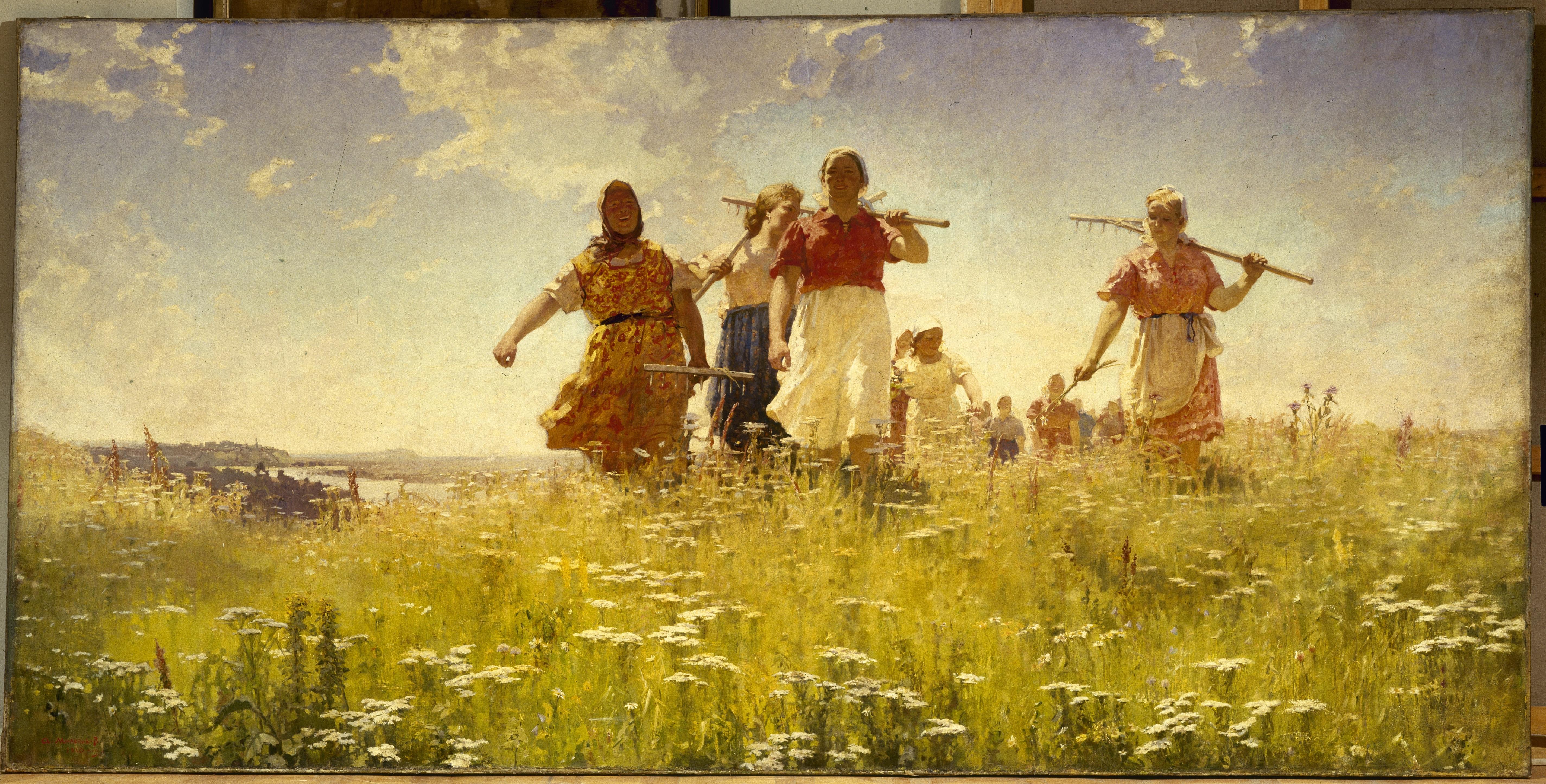Realismo Socialista Y El Viaje Inspirador En El Museo Ruso De Málaga