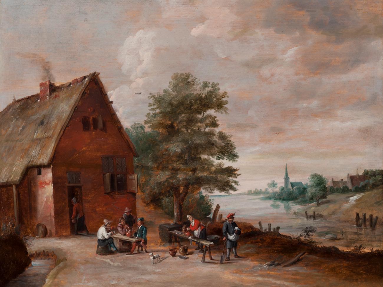 Escena costumbrista – Abraham Teniers.