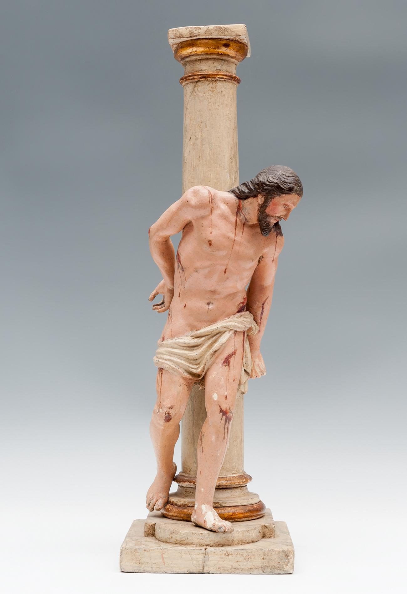 Escuela granadina s. XVII – Cristo en la columna