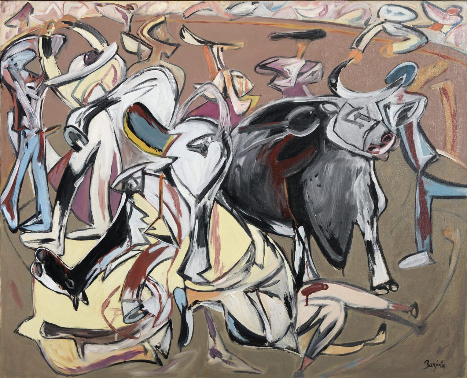 Juan Barjola. Tauromaquia, 1997. Salida: 30.000 euros. Remate: 35.500 euros