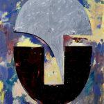 Rafael Canogar. Cabeza Nº 9 (Después de Julio González), 1984. Salida: 20.000 euros