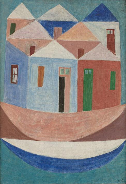 La poética del color de Alfredo Volpi en Mónaco