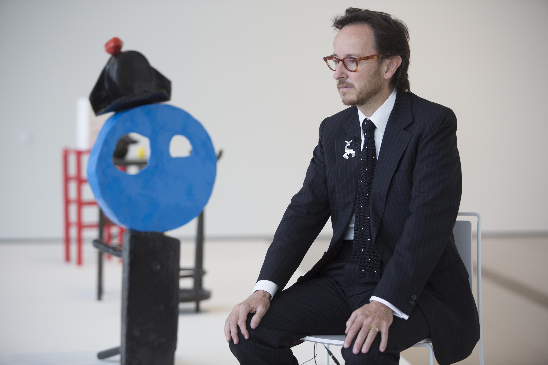 """Joan Punyet Miró: """"Las obras de mi abuelo se consideran blue chip"""""""