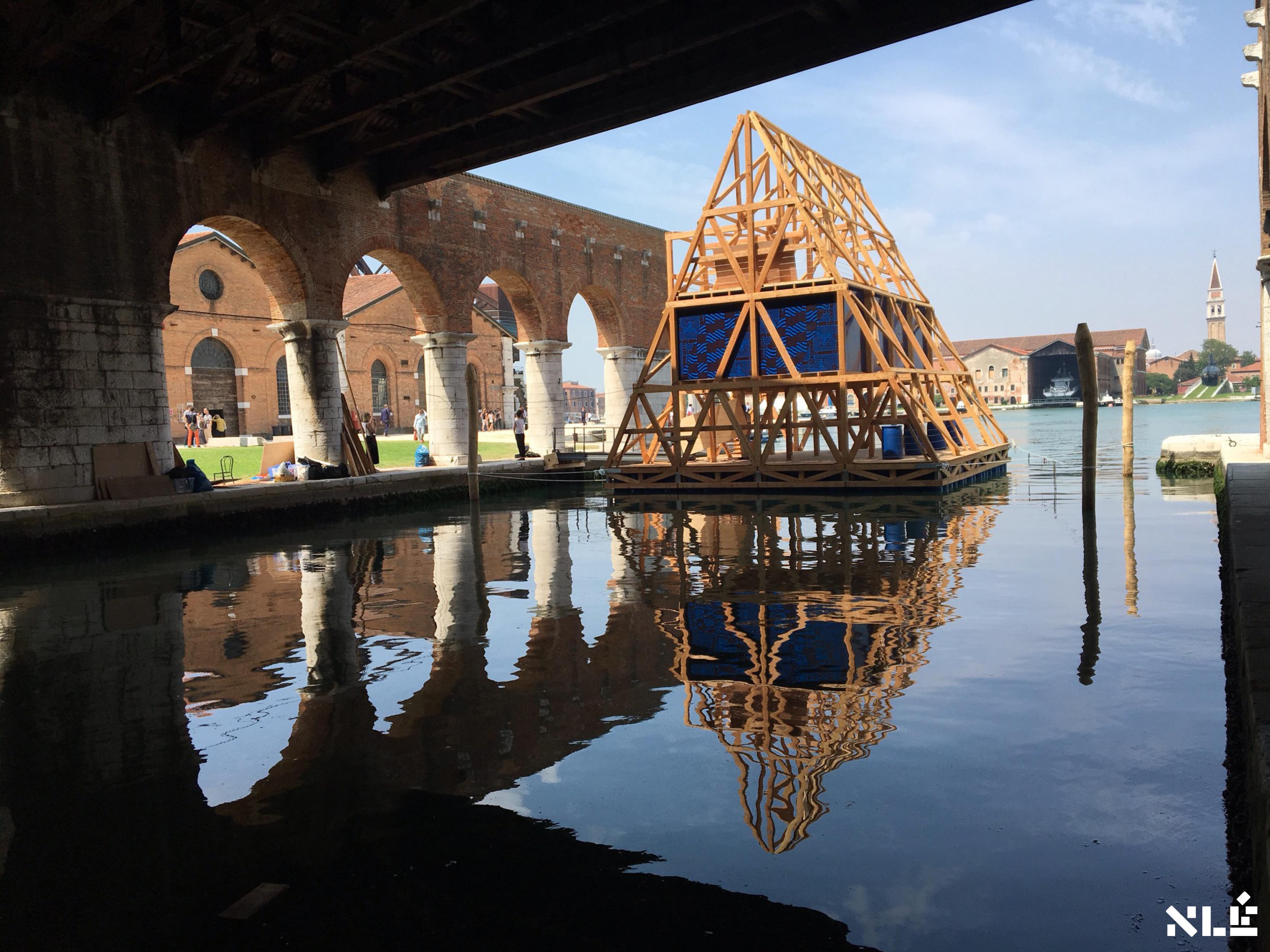 MFS-II, Makoko Floating School II, Venice Biennale 2016