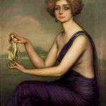 Julio Romero de Torres. Retrato de Teresa Wilms Montt, Teresa de la Cruz, 1920. Salida: 60.000 euros. Remate: 65.000 euros