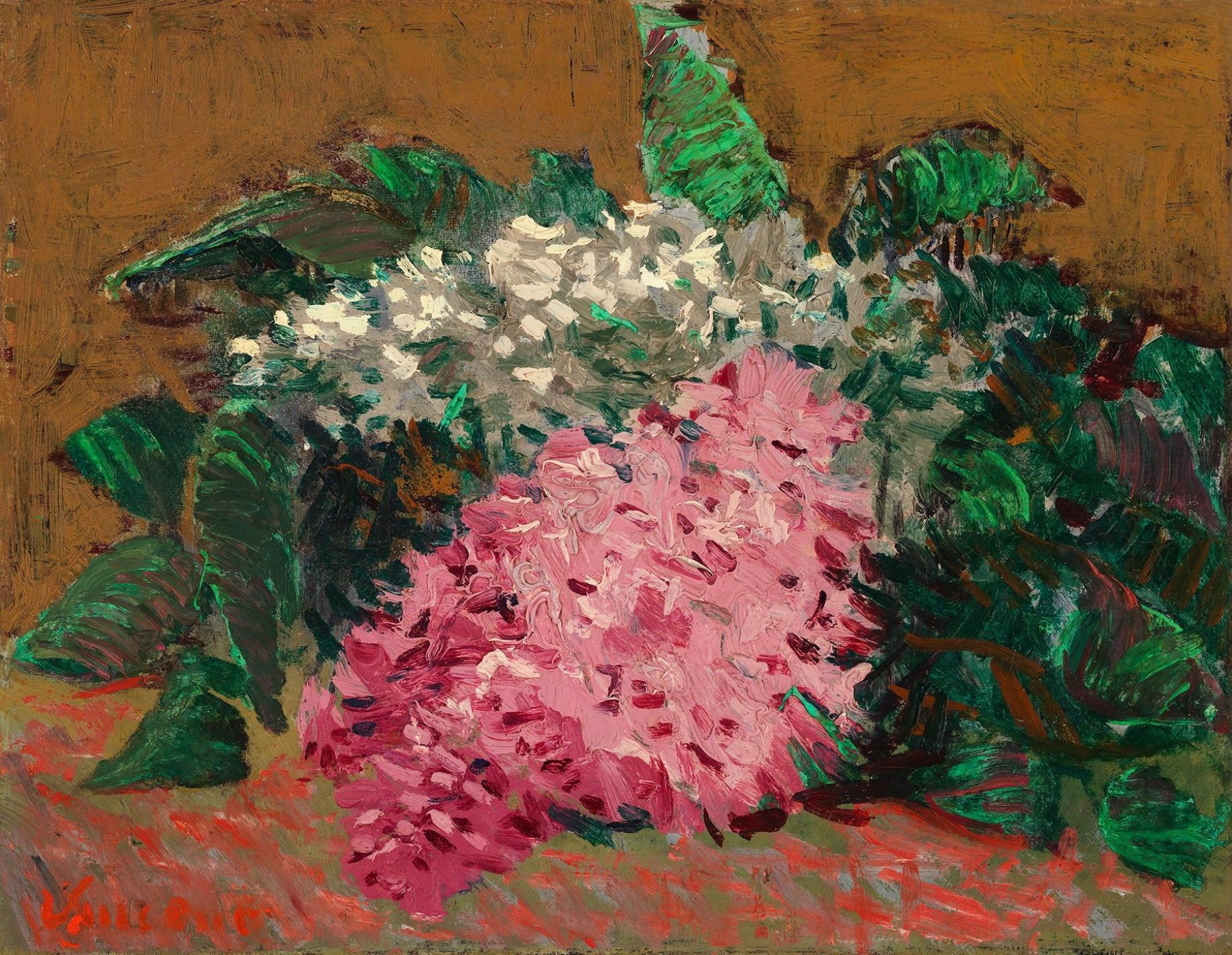 Lilacs – Vincent van Gogh. Hammer Galeries.