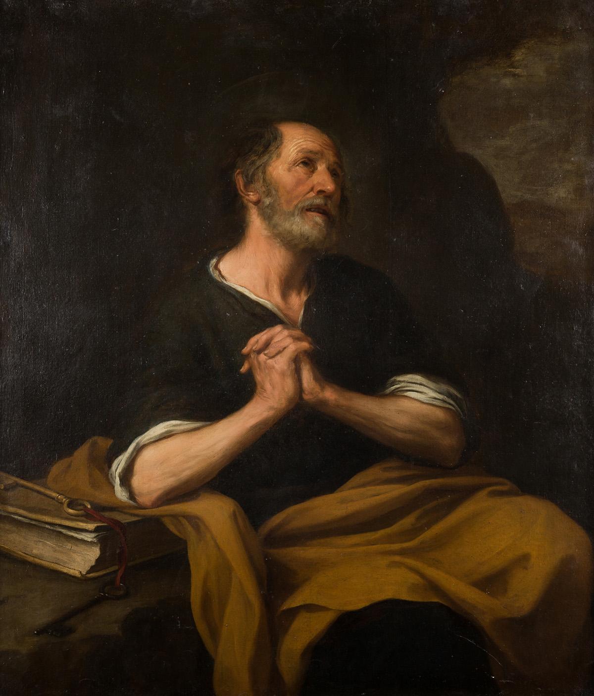 Bartolomé Esteban Murillo. San Pedro arrepentido, hacia 1675. Salida: 350.000 euros. No vendido