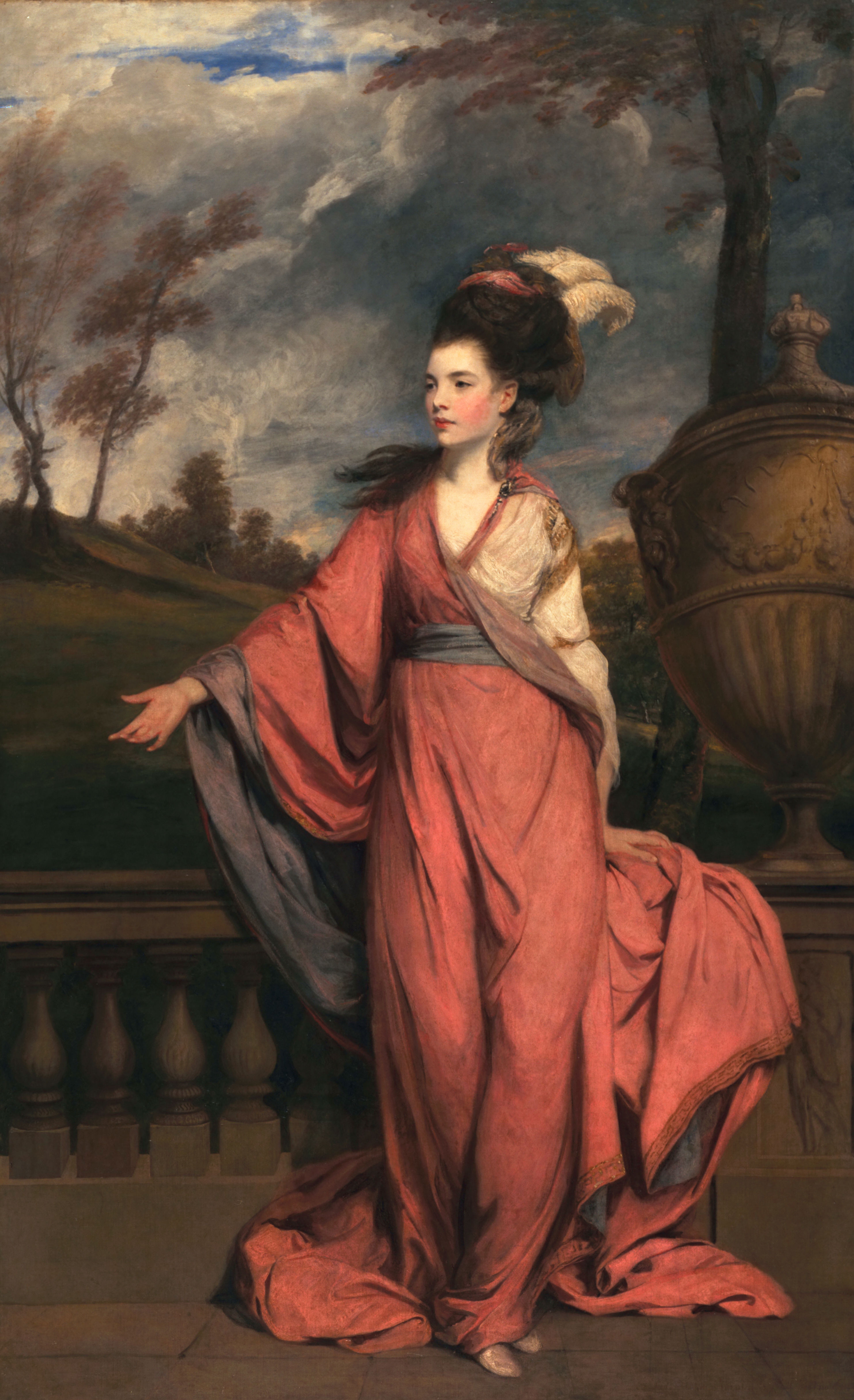San Marino, Hunthington Art Collections_Sir Joshua Reynolds, Jane Fleming, later Countess of Harrington