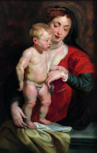 17 Virgen y Niño-Rubens