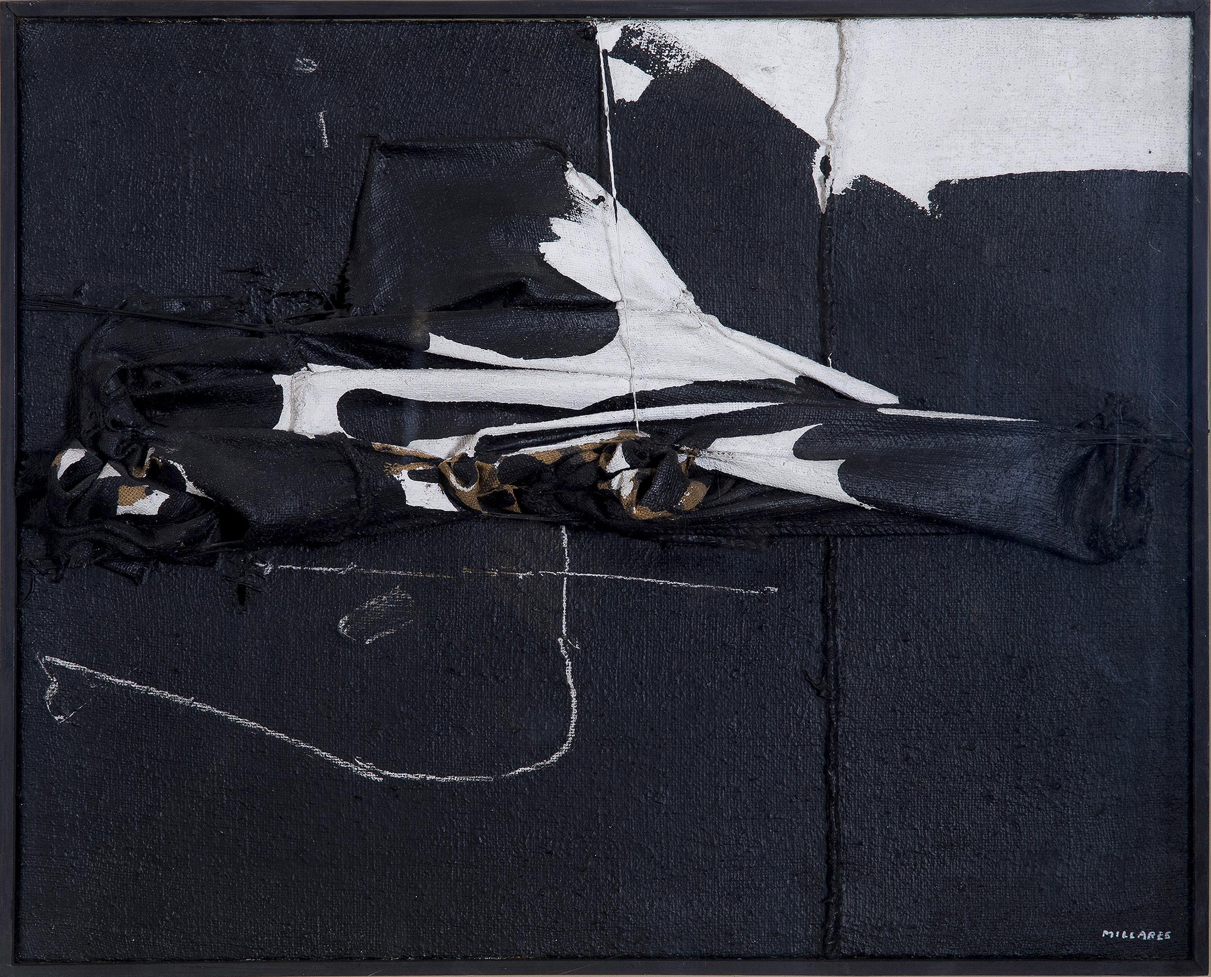 Manolo Millares. Humboldt en el Orinoco, 1968. Salida: 225.000 euros