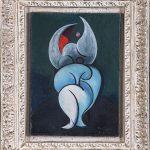 Óscar Domínguez. Composition. Le Taureau, 1955. Salida y remate: 45.000 euros