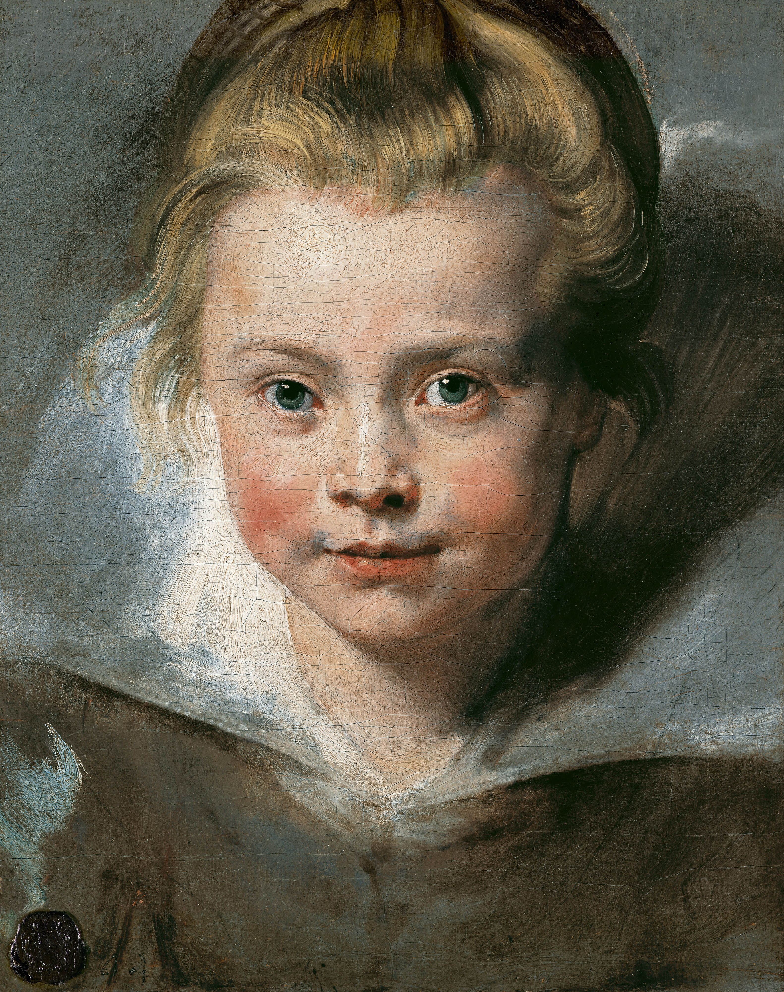 Retrato de Clara Serena Rubens