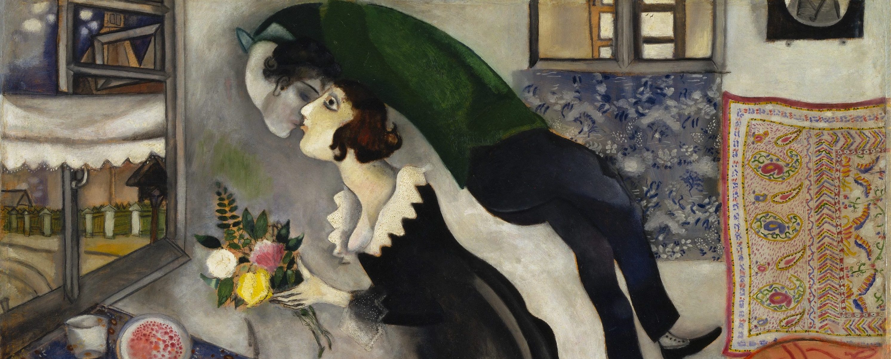 Chagall, Marc (1887-1985): Birthday, 1915 New York Museum of Modern Art (MoMA) *** Permission for usage must be provided in writing from Scala.